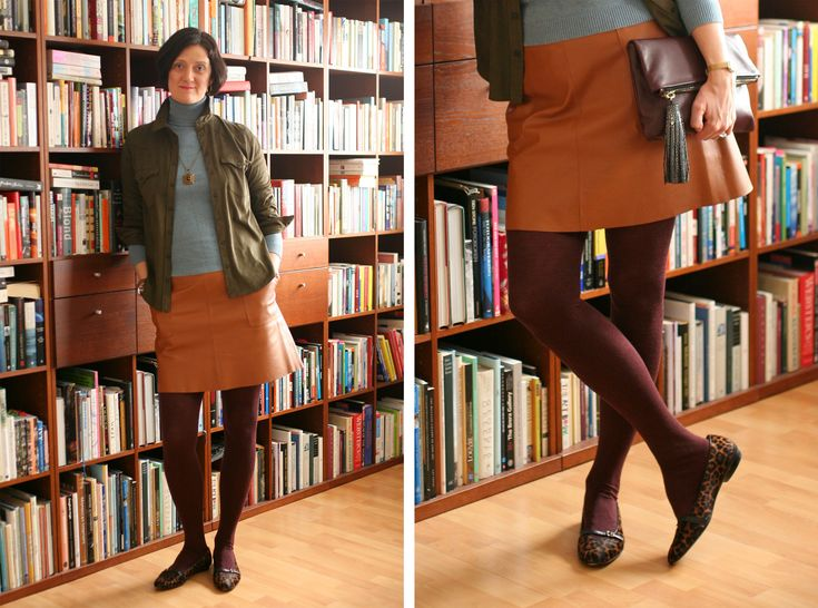 Tall Girl's Fashioon // Warm autumn colour mix