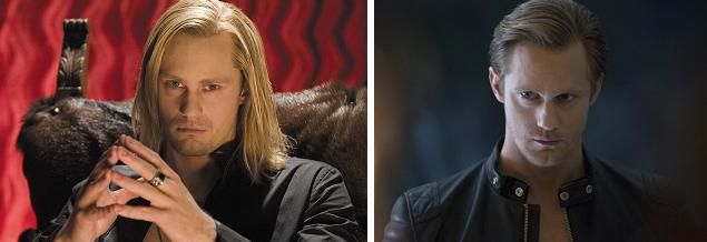 Alexander Skarsgard stars as Eric Northman in HBOs True Blood Season 1 vs Season 7