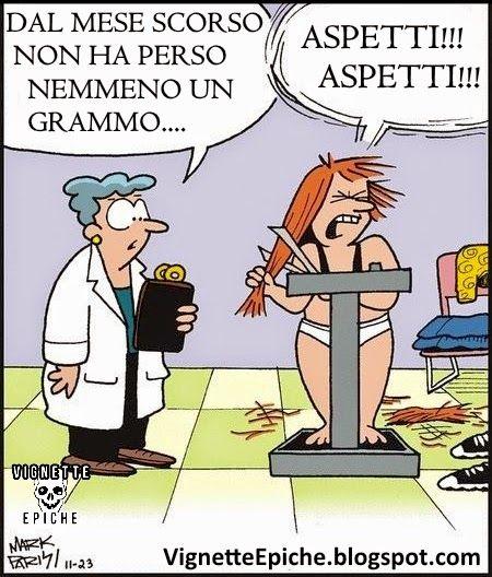 Vignette Epiche: Dalla Dietologa