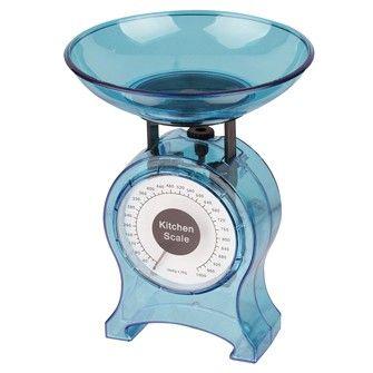 Balanza Cocina Mecanica Azul 1 Kg. 6,90 €