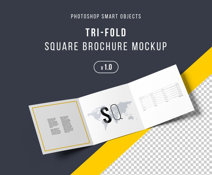 Check out this @Behance project  - gate fold brochure mockup