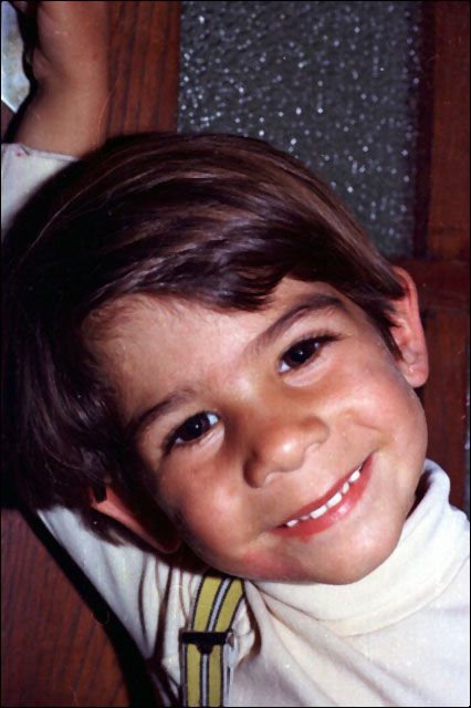 This lovely little boy was the son of Karen Zerby and grew up in the same house at David Berg.  Having been sexually abused his entire childhood he finally, as an adult, killed the woman who had been his nanny for a time and then blew his own brains out.  So much for the 'Children of God' cult!