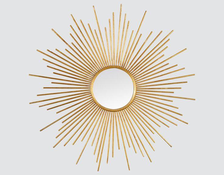Midica Art Déco   Miroir rond décoratif