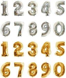 2015! :) 金银色数字进口铝膜气球 生日派对婚庆装饰造型-淘宝网