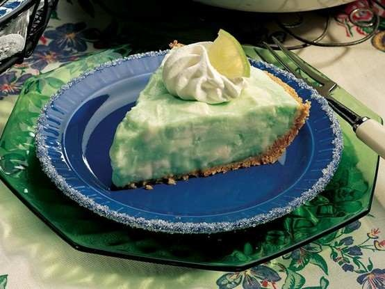 MARGARITA PIE FOR A CINCO DE MAYO PARTY (ONE FOR KIDS AND ONE FOR GROWNUPS, YUM!) - http://savoryrecipe.blogspot.com//?r=21c30f8ff6f93f3f3eb0f78a9c553baf