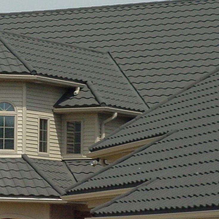 15 best metal roofs spanish tile images on pinterest for Spanish tile roofs
