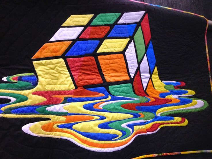 Image result for illusion quilt pattern by dereck lockwood