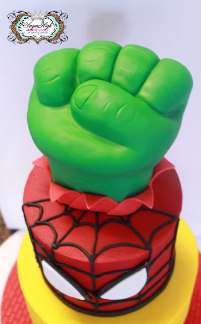 35 best spiderman cake images on pinterest color cake colors superhero cake pronofoot35fo Choice Image