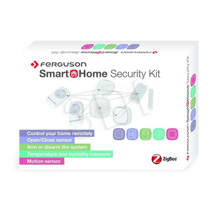 ZESTAW CZUJNIKÓW SMART HOME SECURITY KIT