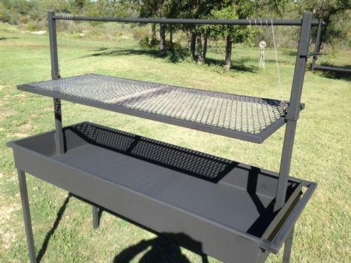 Large Charcoal Grill With Adjustable Grate Height Google