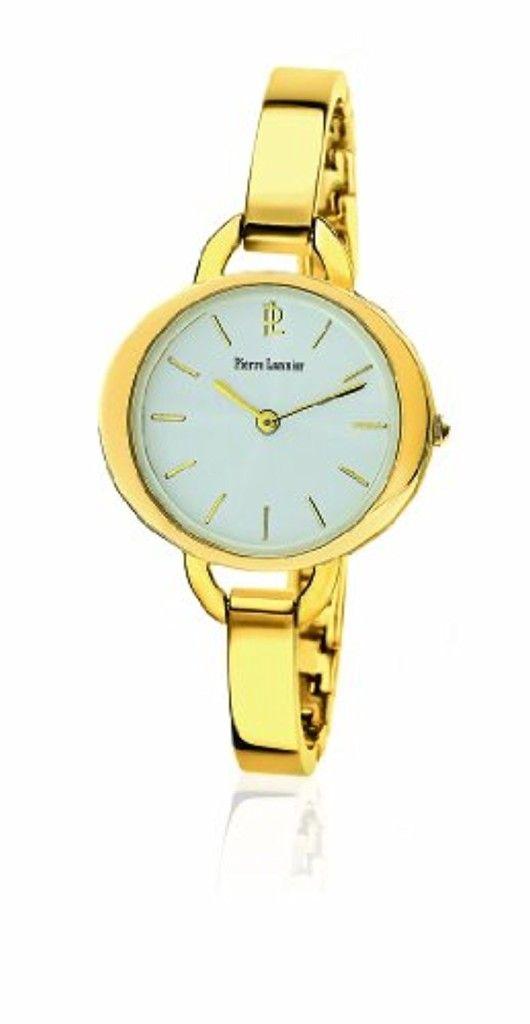 Pierre Lannier - 113C522 - Montre Femme - Quartz Analogique - Cadran Argent - Bracelet Acier Doré 2017 #2017, #Montresbracelet http://montre-luxe-femme.fr/pierre-lannier-113c522-montre-femme-quartz-analogique-cadran-argent-bracelet-acier-dore-2017/