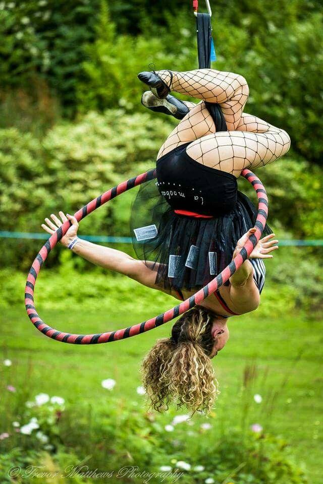 Aerial hoop duo Lamoobaaz on Facebook http://www.facebook.com/lamoobaaz #aerialhoop