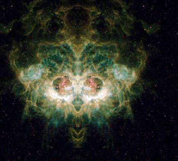 Photo:NASA/ESA Hubble Space Telescop Death's Head
