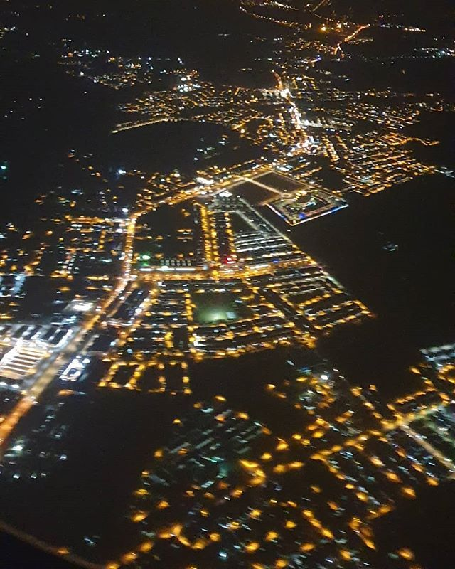 Airplane Airplane View Beautiful City City Lights Gorgeous Lights Night Night Lights Pretty View Sky Aesthetic Plane Photography Airplane Photography