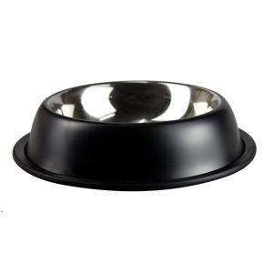 Buy this Stainless Bowl Matte Black at our New Zealand Stainless Steel Bowls Pet Supplies Online Shop
