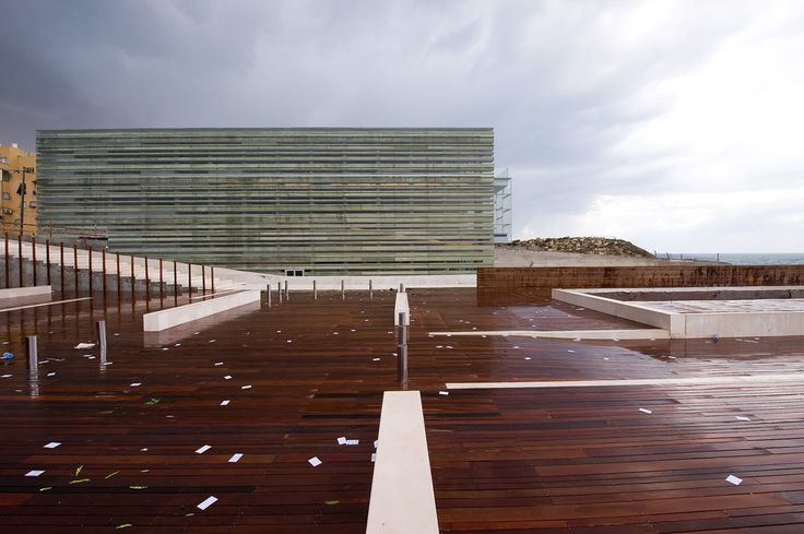 Built by Massimiliano & Doriana Fuksas in Tel Aviv, Israel with date 2008. Images by Moreno Maggi. A home port for all sailors and a haven for the shipwrecked. To imagine a place that is not virtual, but real. To be ...