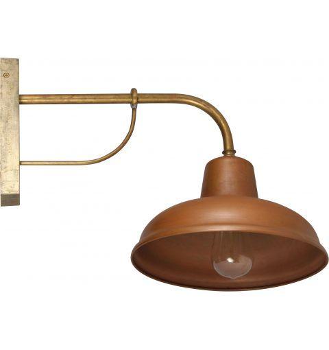 Bells Deco Wall Bracket Light, Copper & Brass