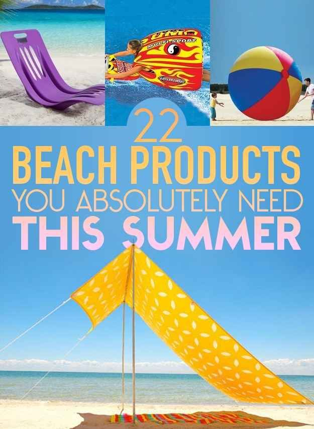 22 Beach Products You Absolutely Need This Summer