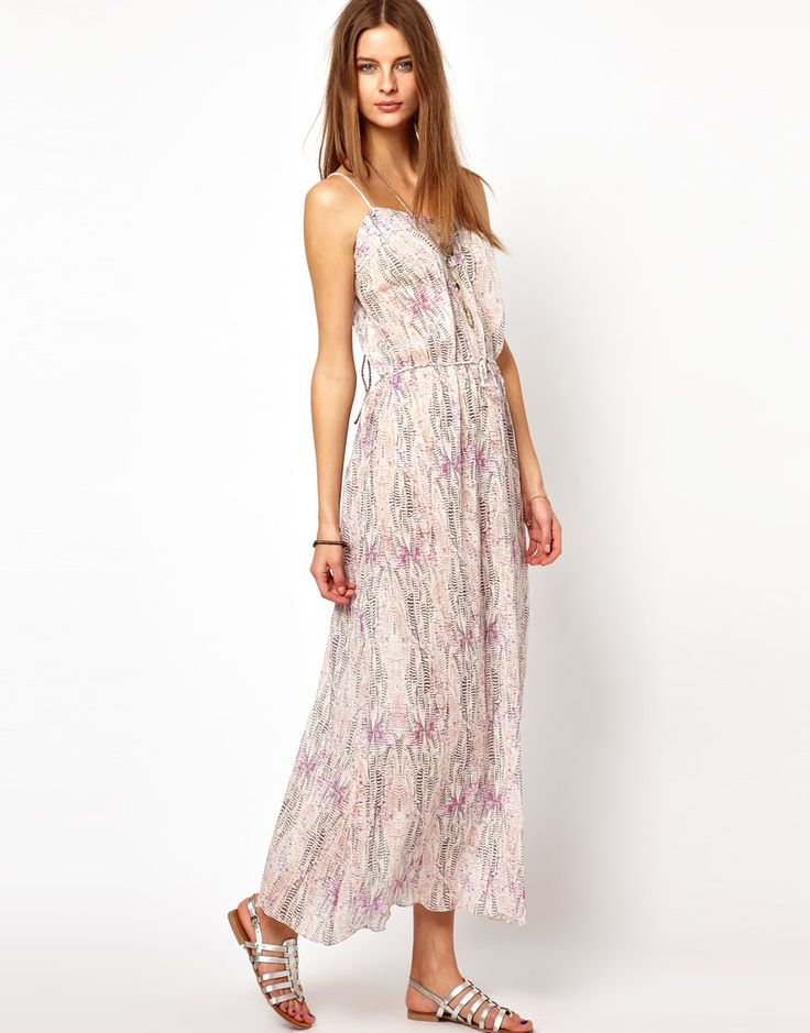 Zadig and Voltaire Printed Cotton Voile Maxi Dress