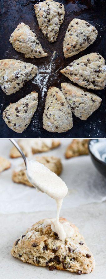 Banana Bread Scones by @howsweeteats I howsweeteats.com