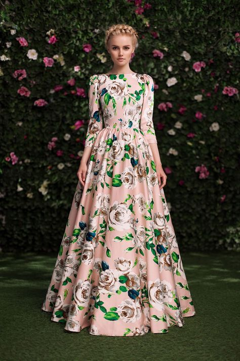 Floral | Платье «Алеся» беж — 27 990 рублей