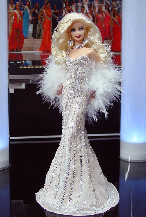 OOAK Barbie NiniMomo's Miss USA 2010