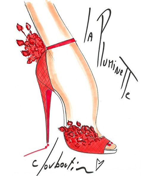 Louboutin Sketch