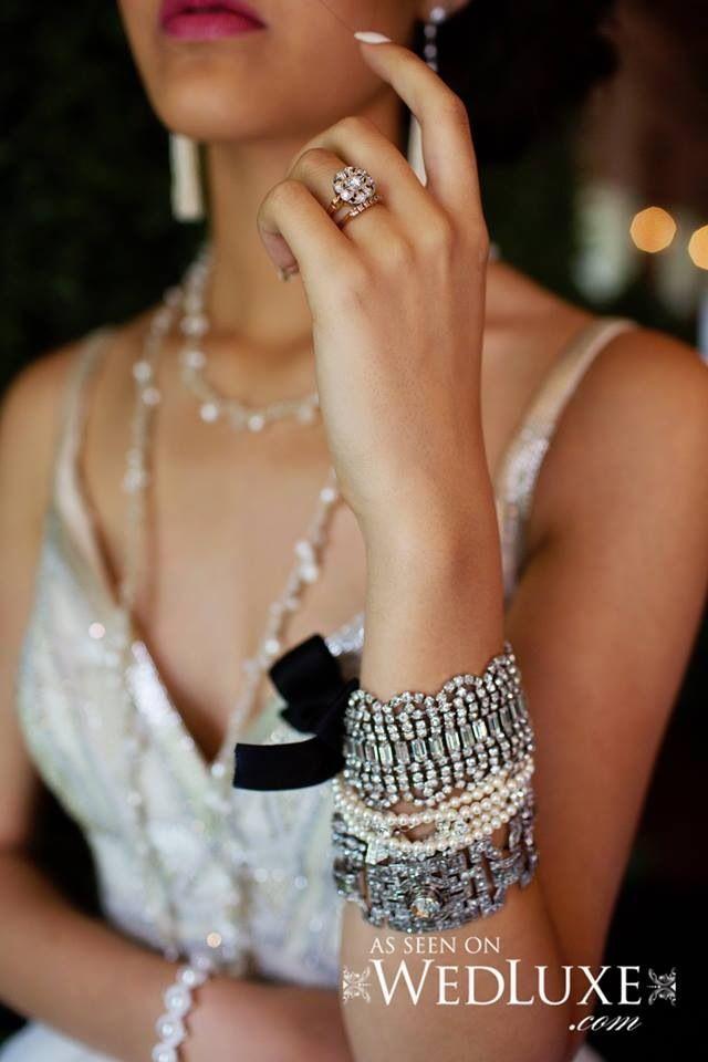 Diamond Duchess' Vintage Rose Gold Diamond Engagement Ring & Wedding Band. Click to see more of our custom jewellery! www.diamondduchess.ca