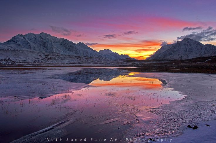 fire on ice.. by Atif Saeed on 500px
