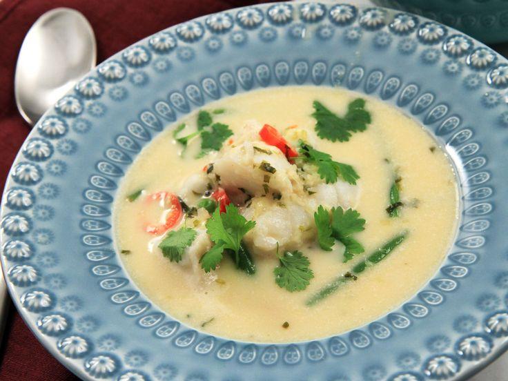 Thaigryta med torsk och citrongräs | Recept från Köket.se