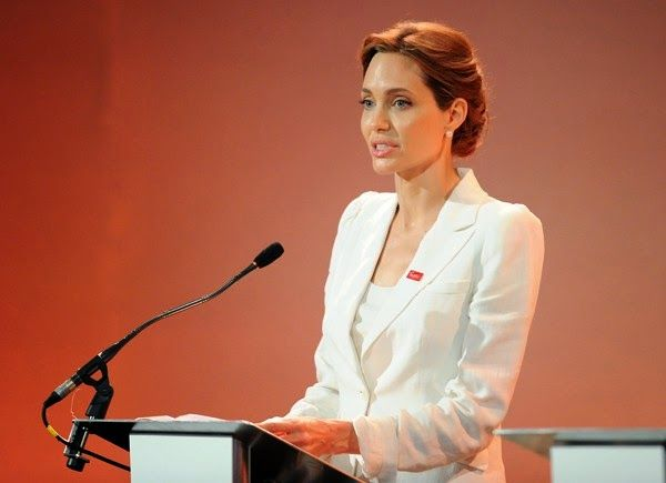 angelina jolie speech | eGistOnline Magazine: Angelina Jolie's Moving Speech At The Global ...