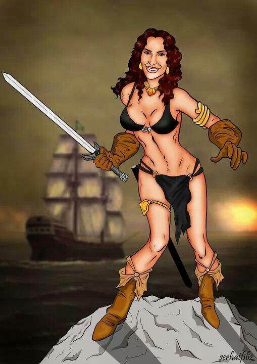 Belit of Conan Thé Barbarian