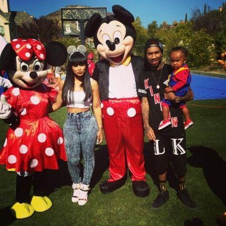 Blac Chyna And Tyga Celebrate Sonu0027s 1st Birthday With The Kardashians And  Lola Monroe