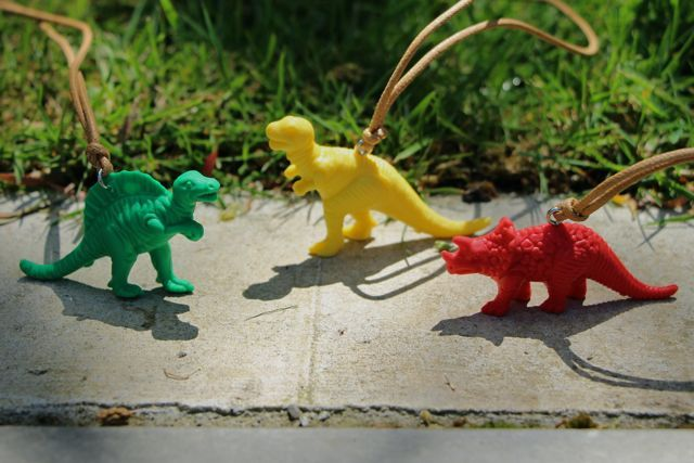 Dino Pendants by Rare Rabbit! On sale for $17! Rooooooar! http://www.toitoidesignstore.co.nz/products/dino-pendants