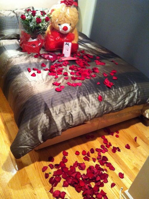 Cute idea for valentines day so cute pinterest for Bedroom gifts for her