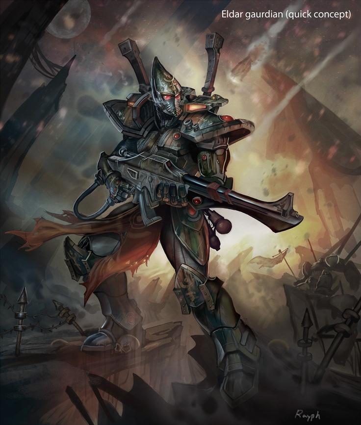 Warhammer Eldar fanart