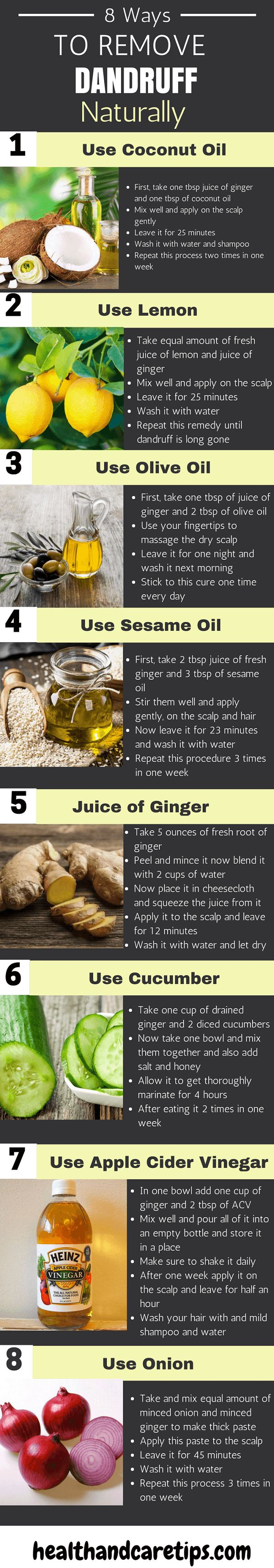 How You Can Use GINGER For Dandruff To Get Rid Of Dandruff Fast