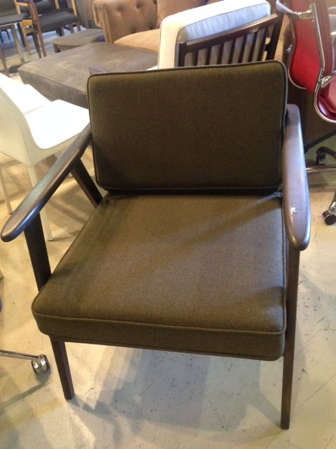 Green Fabric/Wood Chair Direct Furniture Outlet 1005 Howell Mill Rd. Atlanta,  GA