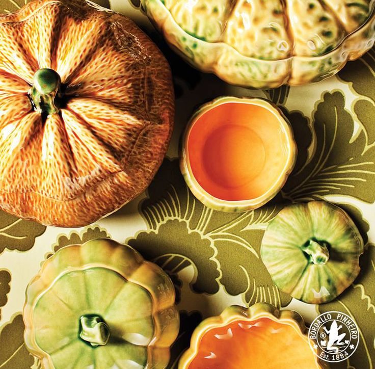 PUMPKIN Tableware & 18 best Tableware | Bordallo Pinheiro images on Pinterest | Dinner ...