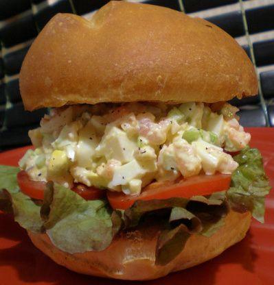 Make and share this Shrimp Salad Sandwich  (Paula Deen) recipe from Food.com.