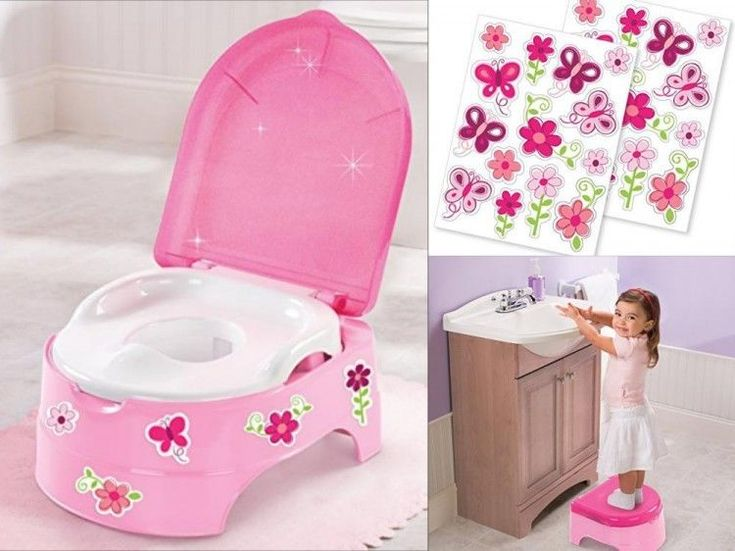 Baby Potty Chair Step Stool Toddler Toilet Training Girl Seat Kids Pee Trainer #BabyPottyChair