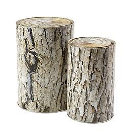 tree tins at container store