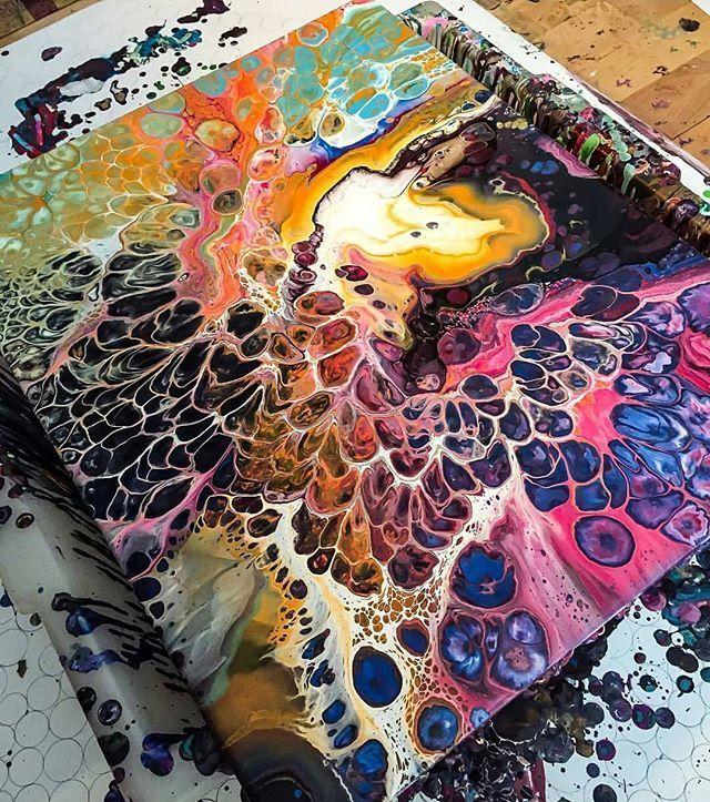 Beautiful random colors & patterns