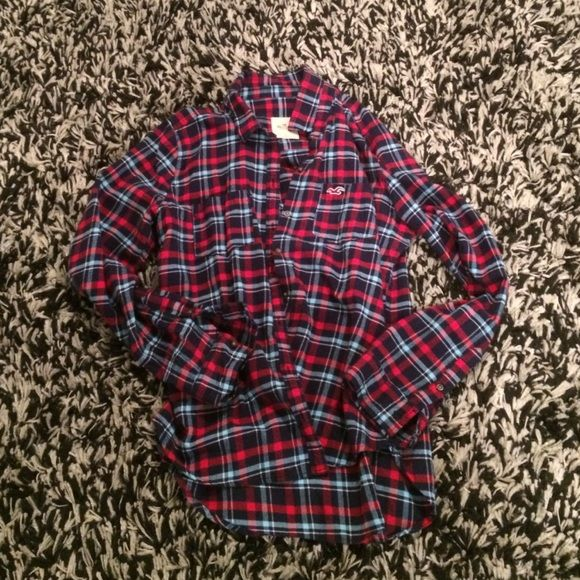 bbc2e051701 Hollister flannel shirt Great condition. I think it has only been worn  twice. Hollister