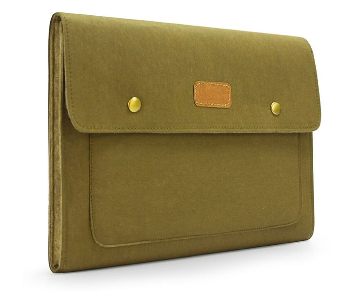 ++++++ Description ++++++ This manual and fashional Macbook Case Cover Shell Wallet sleeve is made from Kraft Paper & Felt which is durable . Colour of Green, looks fashion forever. Simple but gorgeous.  Kraft Paper, as we all know that is a environmental protection and recycled material. It is popularly applied in different fields. Meanwhile it is a durable material and water-resistant which can protect your equipment well.  In our products, there has unique color and will not fade. The ...