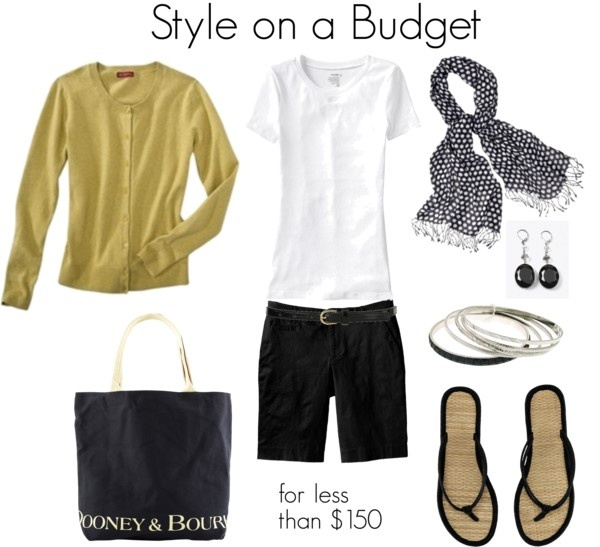 """Dooney & Bourke Tote"" by bluehydrangea on Polyvore"