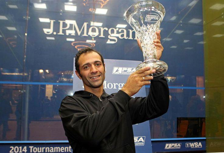 Shabana wins Tournament of Champions 2014.