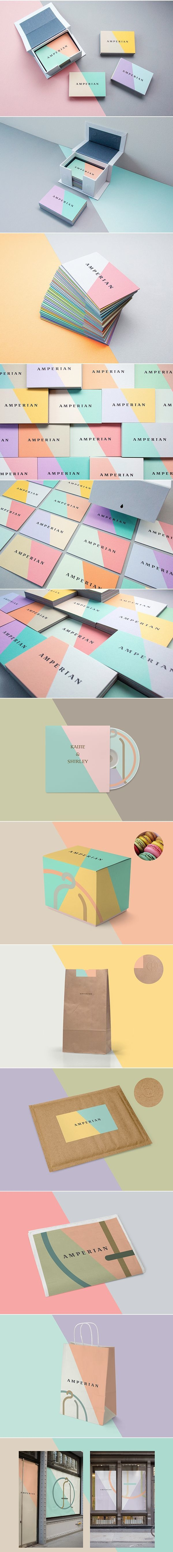 colours // amperian business cards