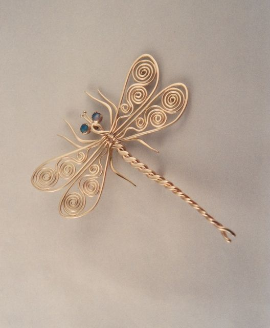 dragonfly pin from ahlene welsh. She has lots of other beautiful creatures on her website