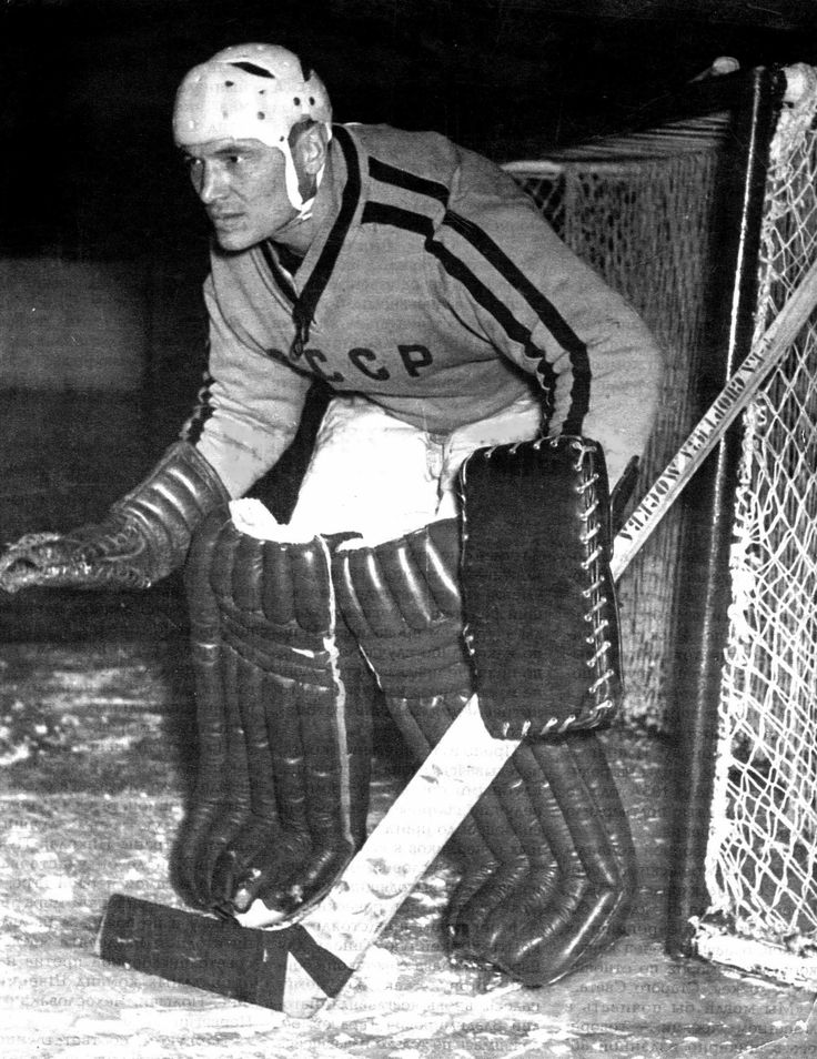 Nikolai Puchkov was the USSR goaltender during the 1956 Winter Olympic Games in in Cortina d'Ampezzo, Italy. He was inducted into the Russian and Soviet Hockey Hall of Fame in 1954.